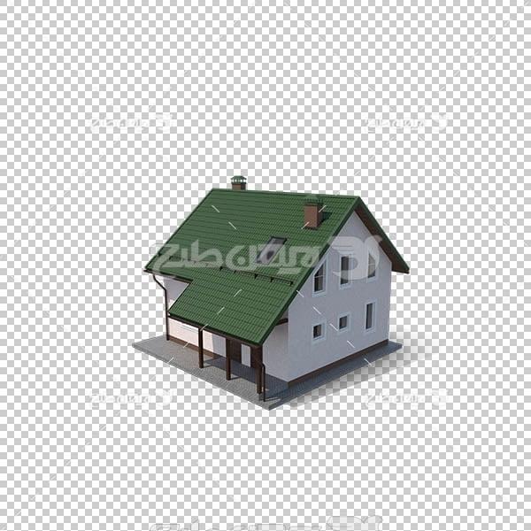 تصویر سه بعدی دوربری خانه