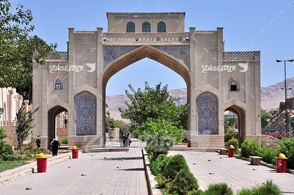 عکس دروازه قرآن شیراز