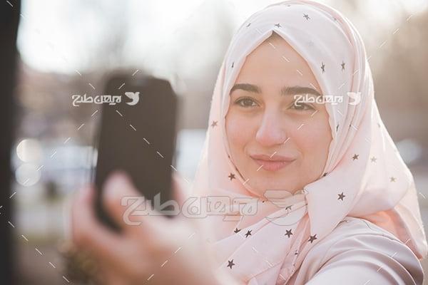 عکس خانم با حجاب