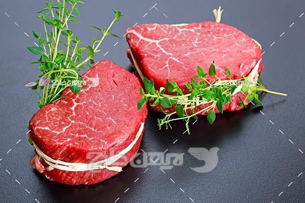 گوشت ماهی شیر