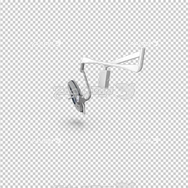تصویر دوربری سه بعدی کالای پزشکی