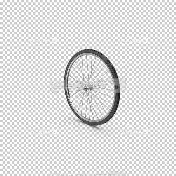 تصویر دور بری سه بعدی چرخ