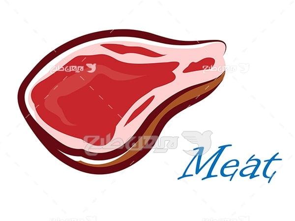 وکتور گوشت