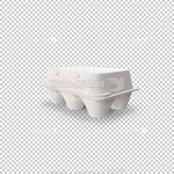 تصویر سه بعدی دوربری بسته تخم مرغ