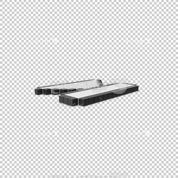 تصویر سه بعدی دوربری دکمه پخش آیتم قبلی