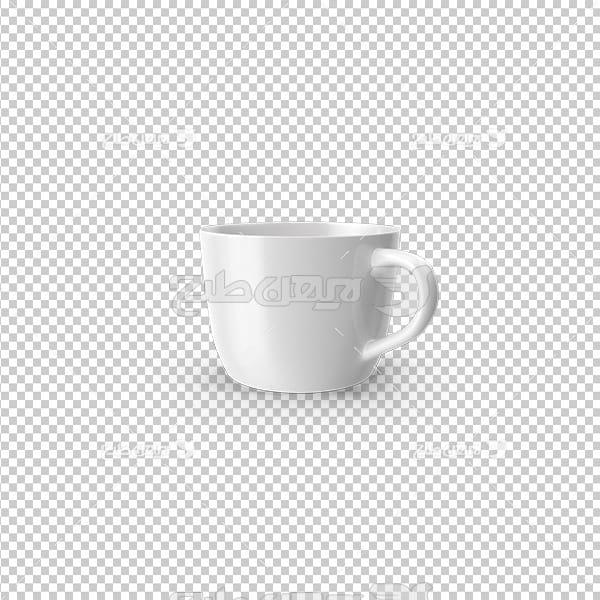 تصویردوربری سه بعدی فنجان