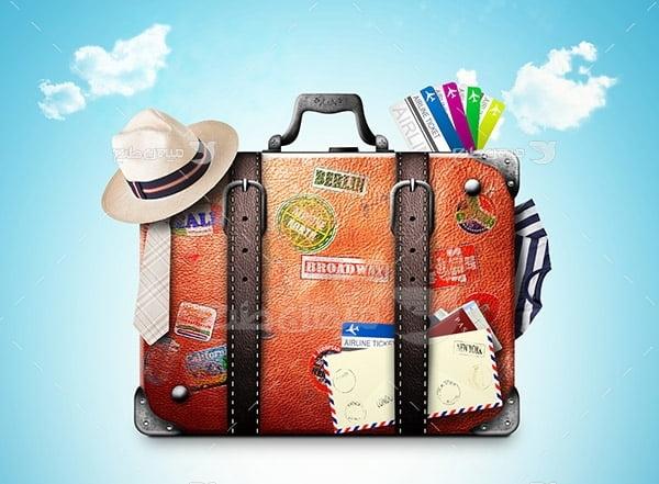 عکس چمدان سفر