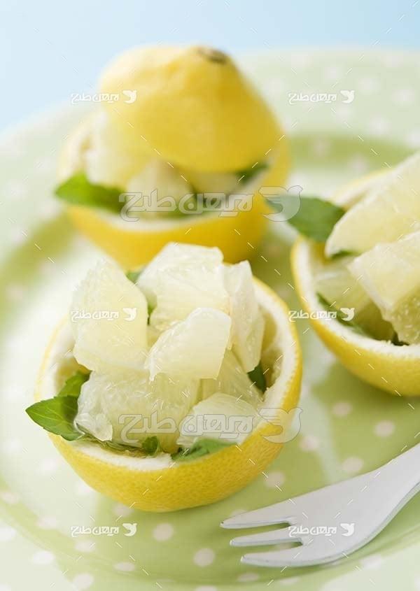 عکس میوه لیمو