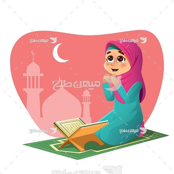 وکتور نماز