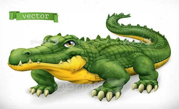 وکتور تمساح
