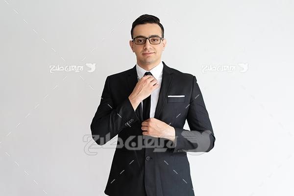 عکس تبلیغاتی مدیریتی آقا