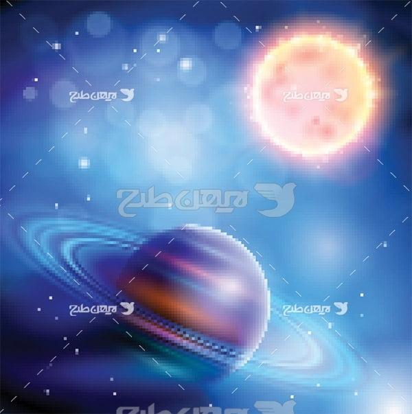 وکتور خورشید و زمین