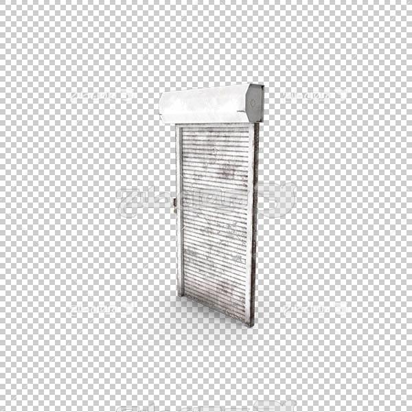 تصویر سه بعدی دوربری درب برقی