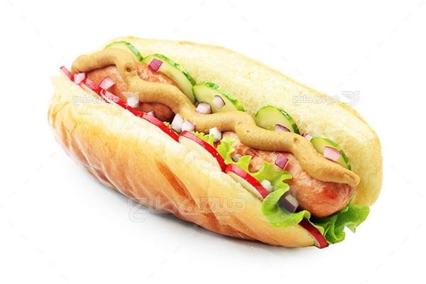 عکس ساندویچ هات داگ