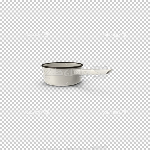 تصویردوربری سه بعدی  ظرف قهوه