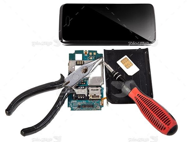 عکس تعمیرات موبایل