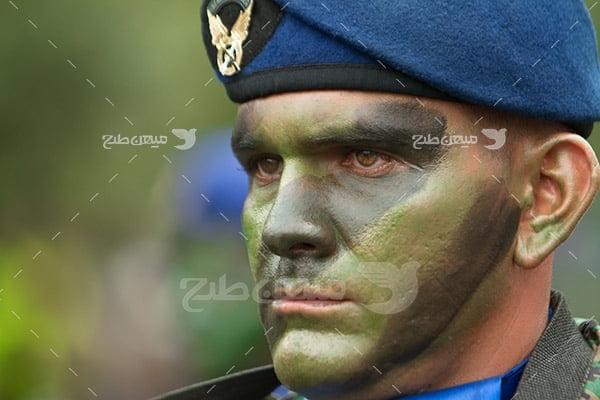 تصویر سرباز ارتش