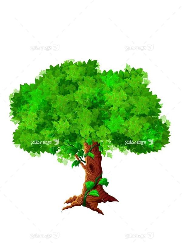 درخت وکتور فانتری