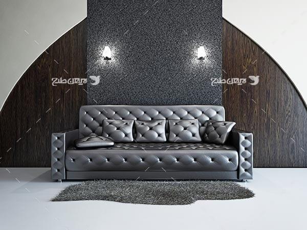 تصویر مبل و دکوراسیون داخلی منزل و خانه