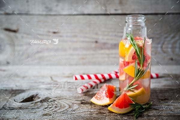 عکس میوه پرتقال قرمز