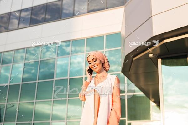 عکس زن با حجاب
