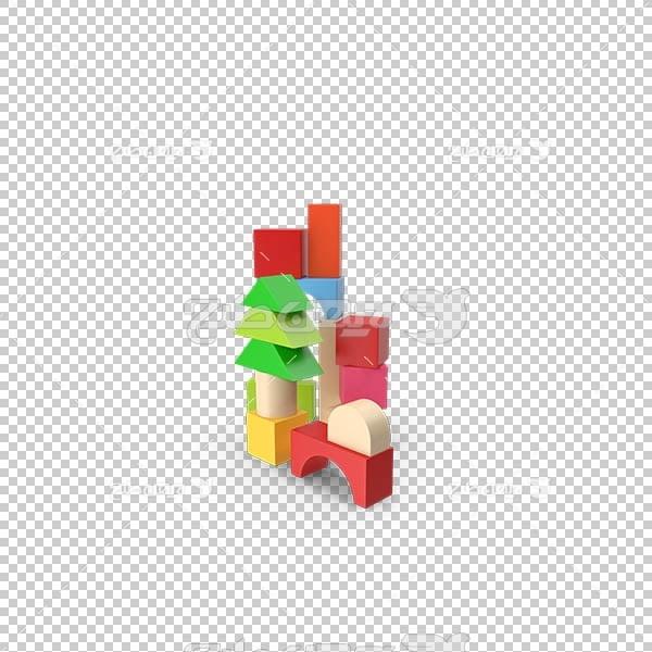 تصویر سه بعدی دوربری اسباب بازی