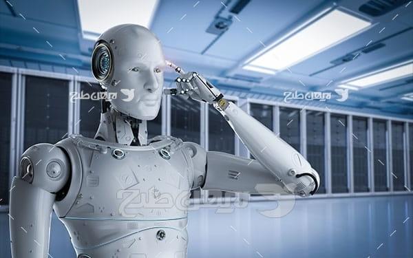 ربات و اینترنت