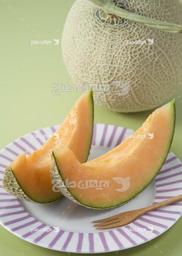 عکس میوه طالبی
