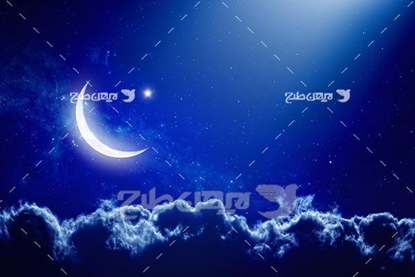 عکس شب مهتابی
