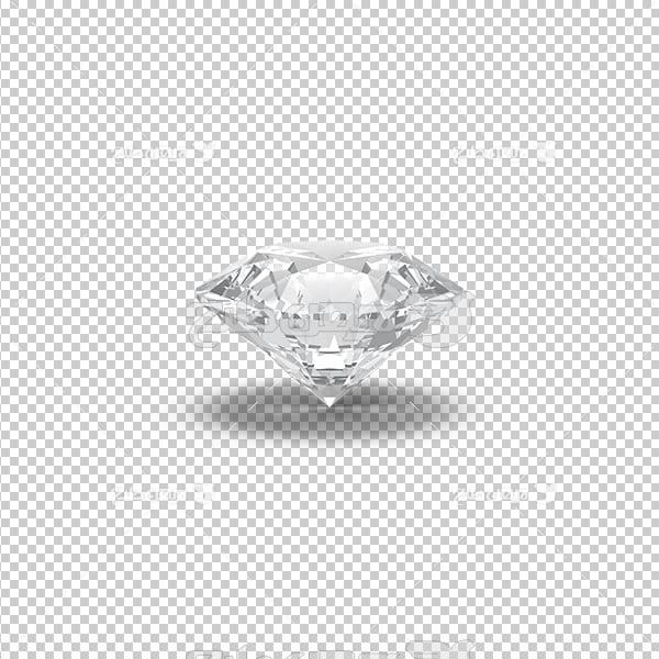 تصویر برش خورده سه بعدی حلقه ازدواج