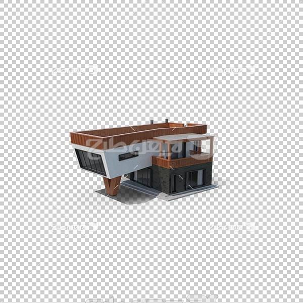 تصویر سه بعدی دوربری خانه ویلایی