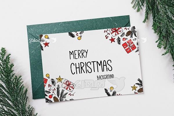 موکاپ کارت پستال و پوستر