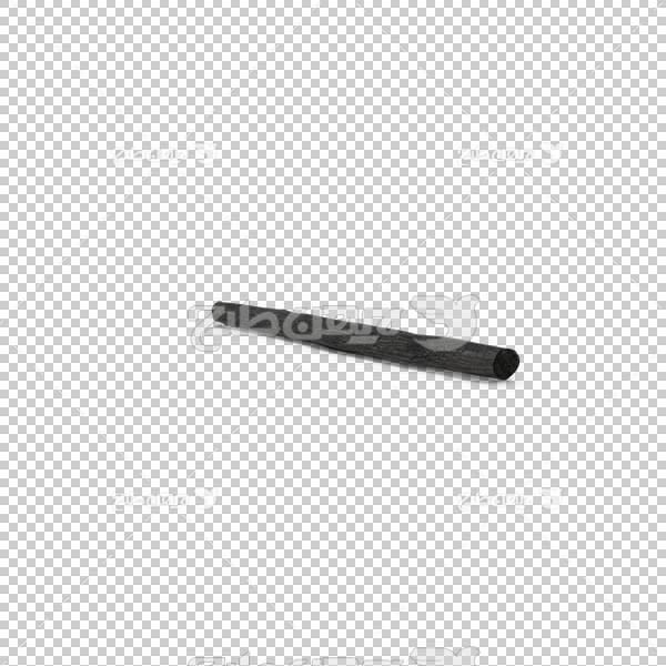 تصویر سه بعدی دوربری چوب ذغال