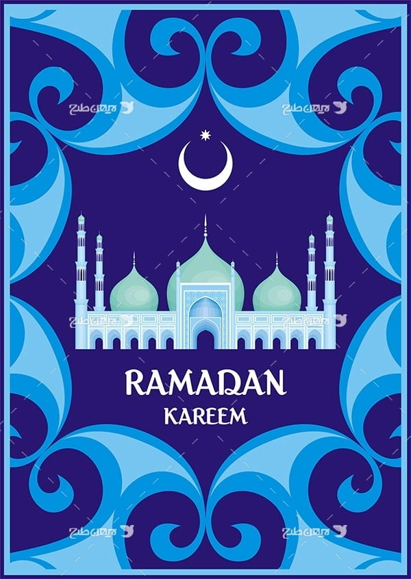 وکتور ماه رمضان