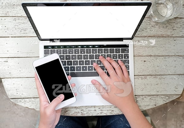 موبایل و لپ تاپ