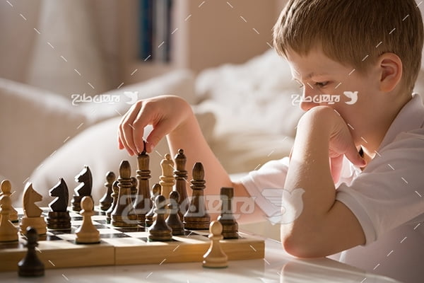 عکس ورزش شطرنج کودکان