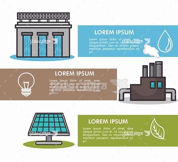 وکتور سد ، نیروگاه تولید برق و پنل های خورشیدی