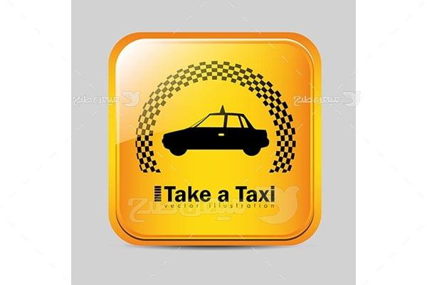 آیکن تاکسی