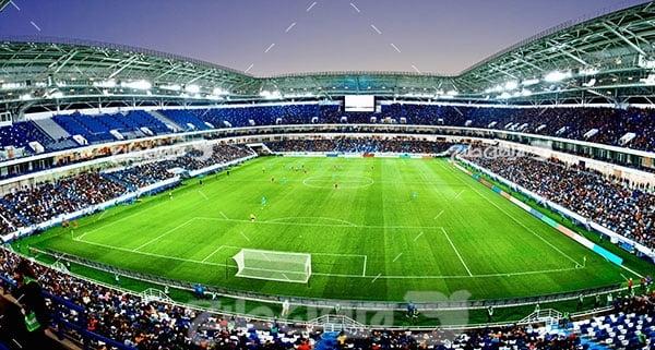 تصویر ورزشی ورزشگاه فوتبال