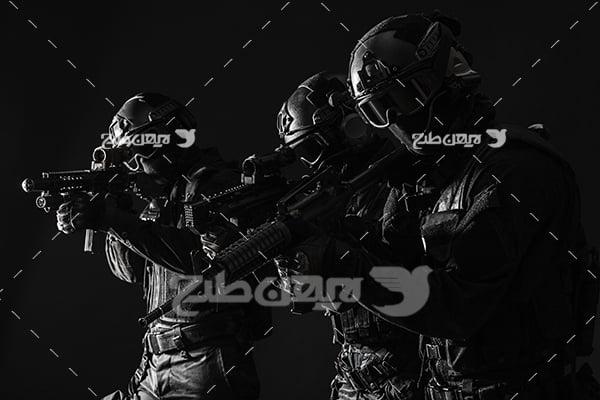 عکس پلیس و نظامی