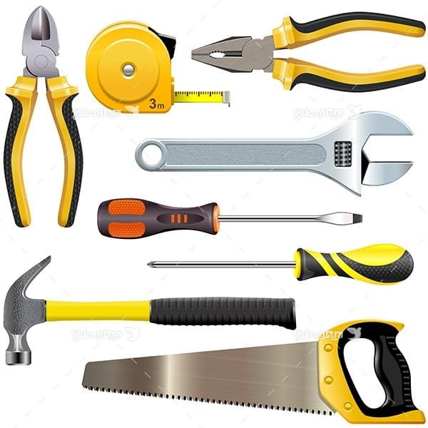 طرح انواع ابزار