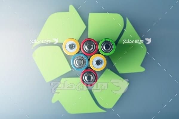 تصویر بازیافت باتری