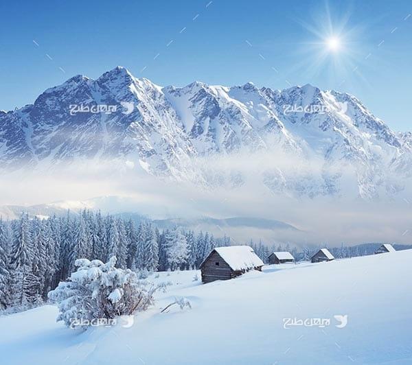 کوه و برف