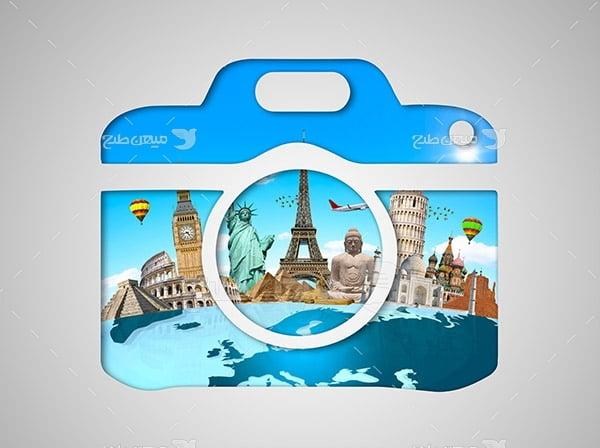 عکس آیکون اماکن گردشگری جهان