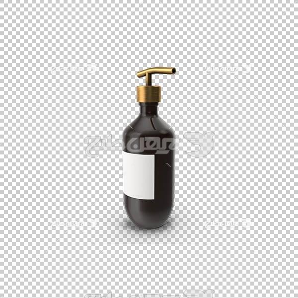 تصویر سه بعدی دوربری مایع دستشویی