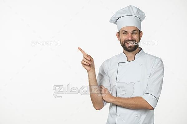 عکس آشپز آقا