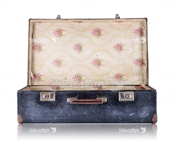 عکس چمدان قدیمی
