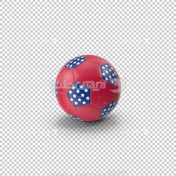 تصویر سه بعدی دوربری توپ فوتبال