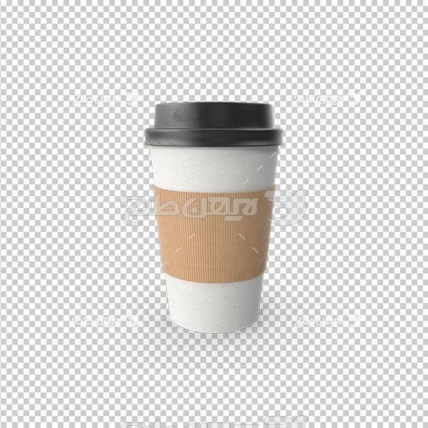 تصویر دوربری پی ان جی لیوان قهوه
