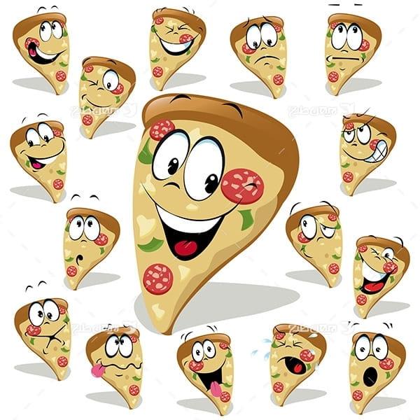 کارکتر وکتور پیتزا